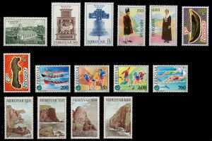 FÄRÖER Nr 179-193 postfrisch JAHRGANG 92A206