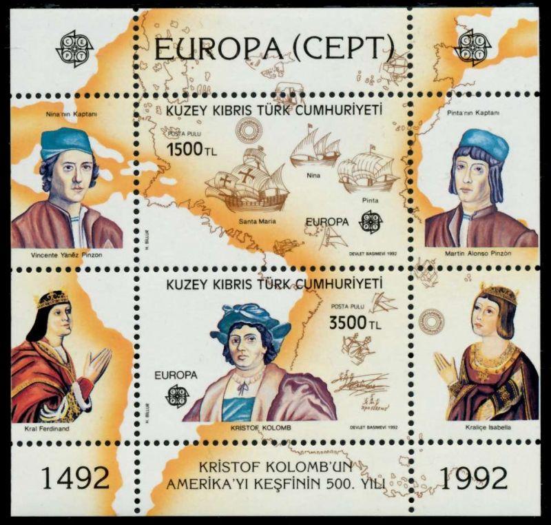 Briefmarken Zypern Türkisch Zypern Block 4 Postfrisch