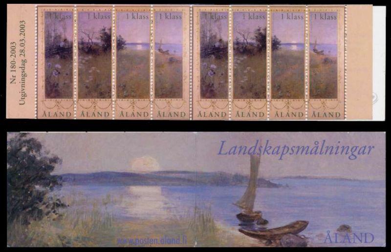 ALAND MARKENHEFT Nr MH 11 postfrisch 9386FA