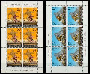 NEUSEELAND Nr 475KB-476KB postfrisch KLEINBG 94D4A6