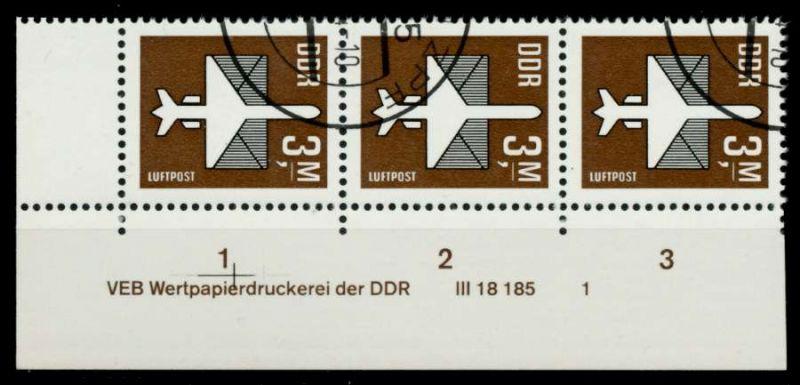 DDR 1984 Nr 2868DV gestempelt 3ER STR ECKE-ULI 958F06
