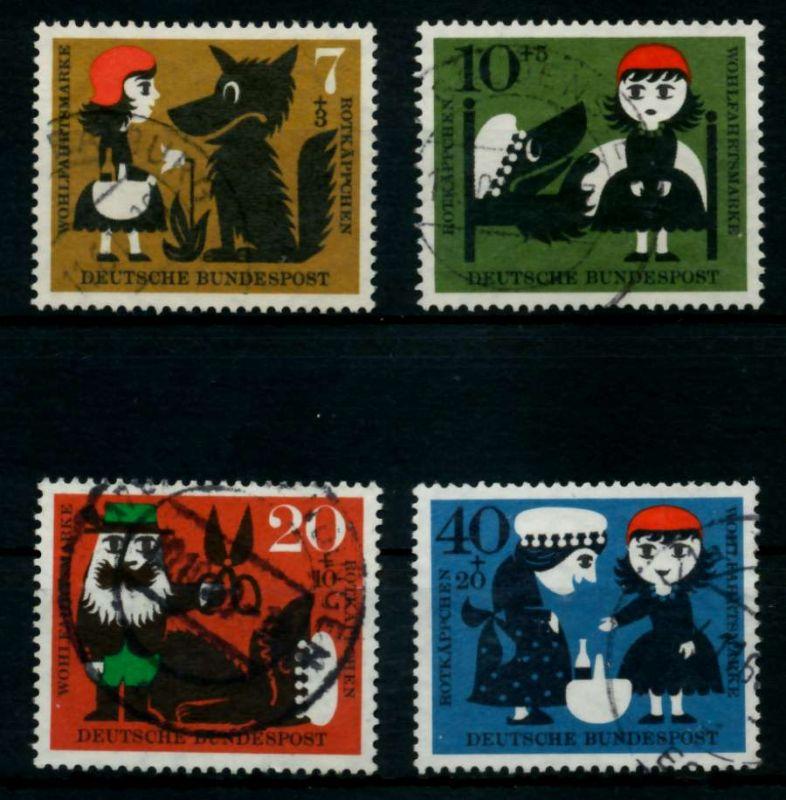 BRD 1960 Nr 340-343 gestempelt 95CDD2