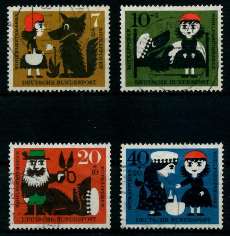 BRD 1960 Nr 340-343 gestempelt 95CEFE