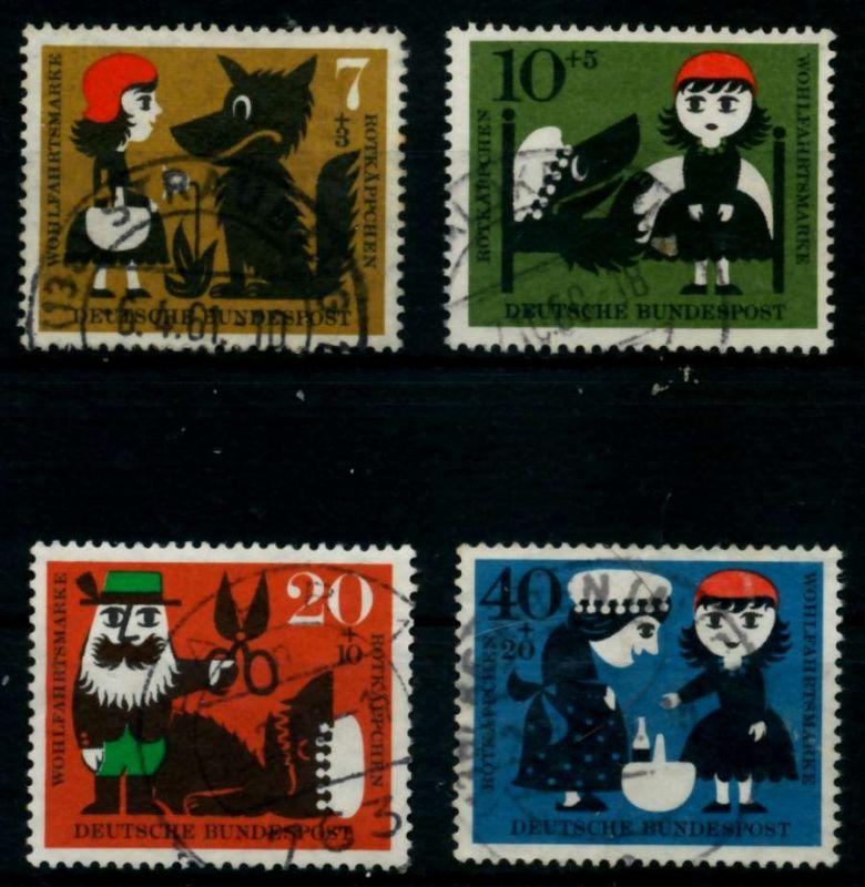 BRD 1960 Nr 340-343 gestempelt 95D03A