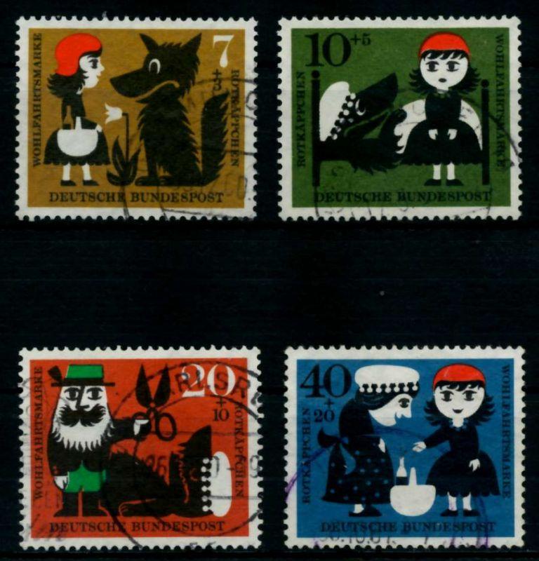 BRD 1960 Nr 340-343 gestempelt 95D042