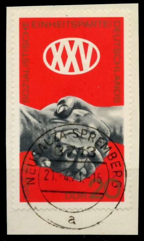 DDR 1971 Nr 1667 gestempelt Briefst³ck zentrisch 9863BA