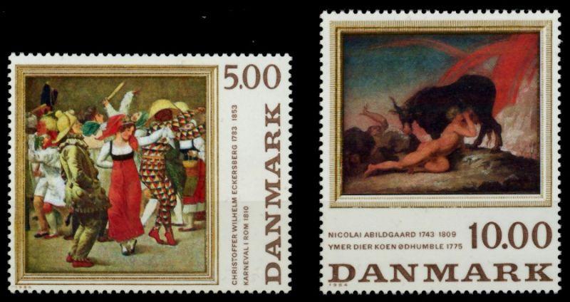 DÄNEMARK Nr 819-820 postfrisch 90E14E