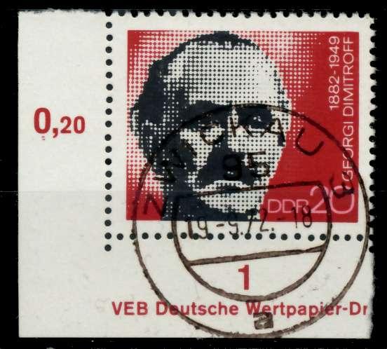 DDR 1972 Nr 1784 zentrisch gestempelt ECKE-ULI 997532