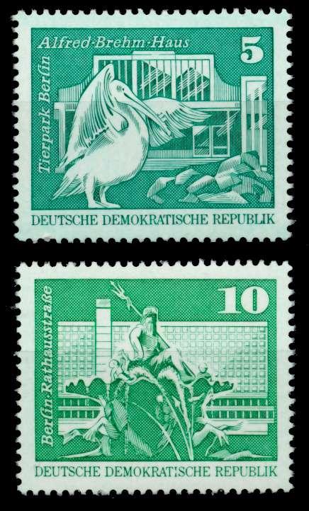 DDR 1973 Nr 1842-1843 postfrisch S050D56