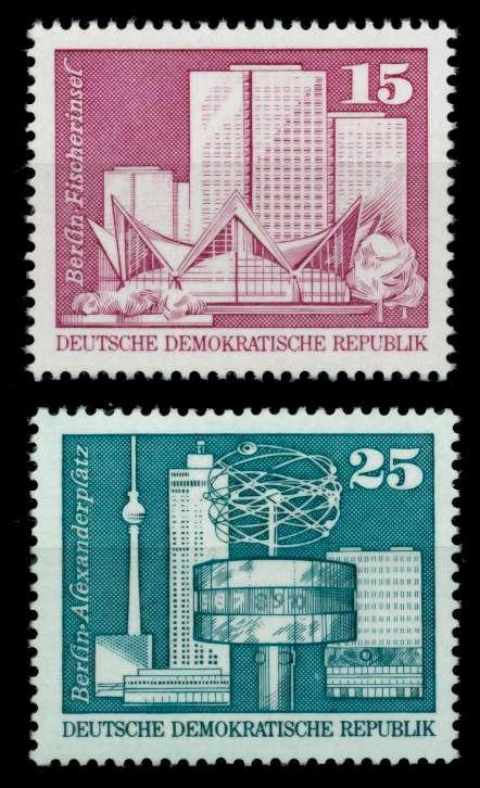 DDR 1973 Nr 1853-1854 postfrisch S050D82