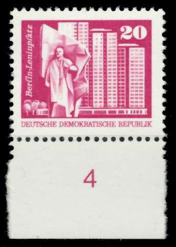 DDR 1973 Nr 1869v postfrisch URA 68A8BE