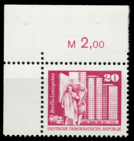DDR 1973 Nr 1869v postfrisch ECKE-OLI 68A8CA