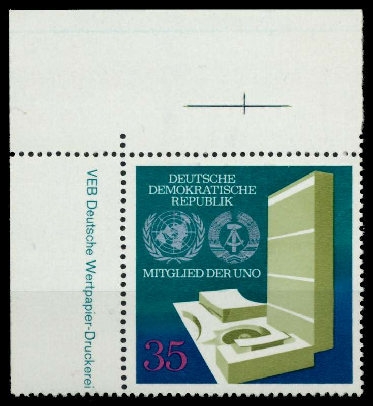 DDR 1973 Nr 1883 postfrisch ECKE-OLI 68A93A