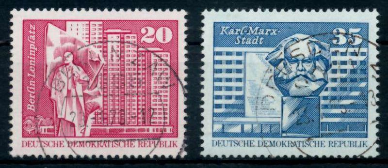 DDR 1973 Nr 1820-1821 gestempelt 68ABE6