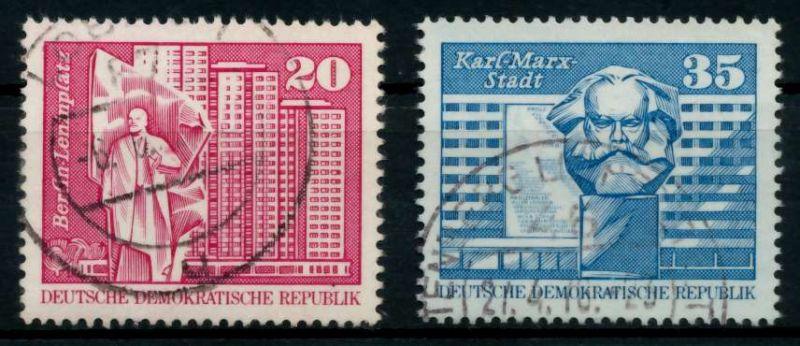 DDR 1973 Nr 1820-1821 gestempelt 68AC72