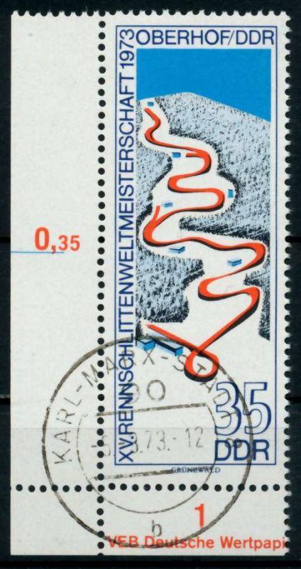 DDR 1973 Nr 1831 zentrisch gestempelt ECKE-ULI 68AC9E