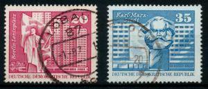 DDR 1973 Nr 1820-1821 gestempelt 68ACCA
