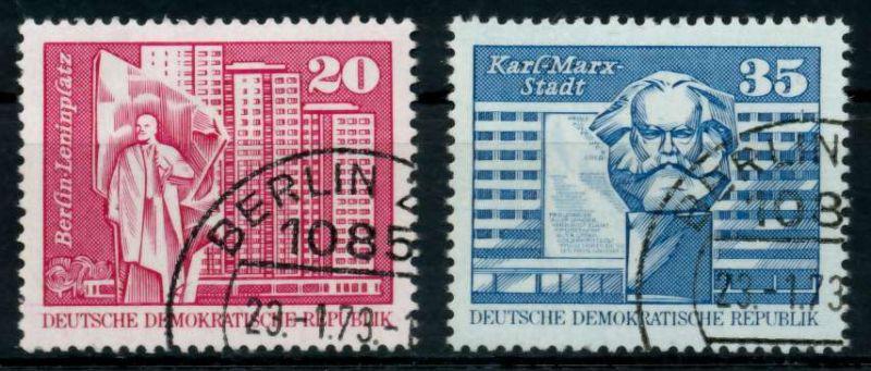 DDR 1973 Nr 1820-1821 gestempelt 68ACF2