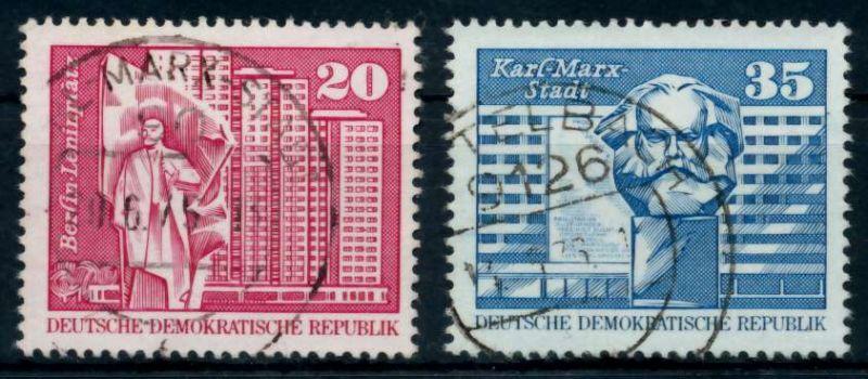 DDR 1973 Nr 1820-1821 gestempelt 68ACFE