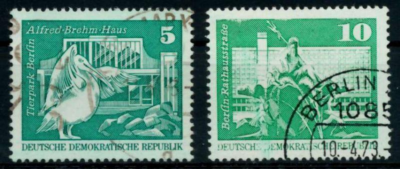 DDR 1973 Nr 1842-1843 gestempelt 68AD82