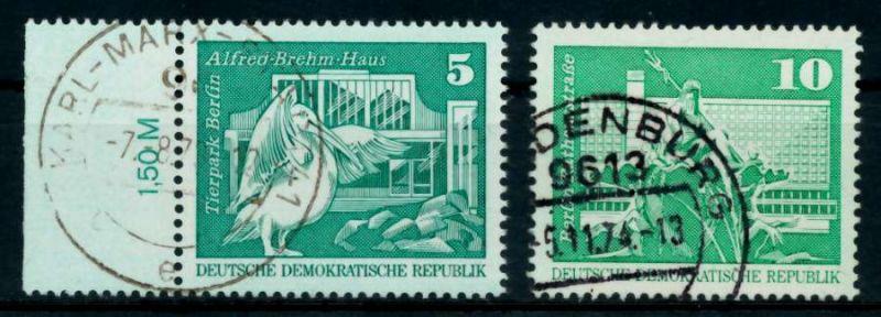 DDR 1973 Nr 1842-1843 gestempelt 68ADFE 0