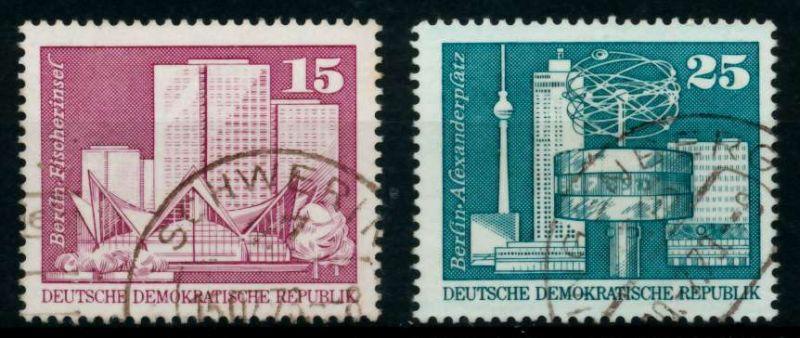 DDR 1973 Nr 1853-1854 gestempelt 691596
