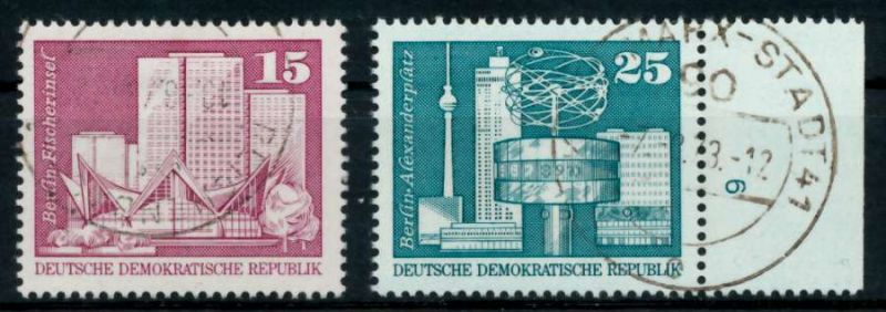 DDR 1973 Nr 1853-1854 gestempelt 6915B2