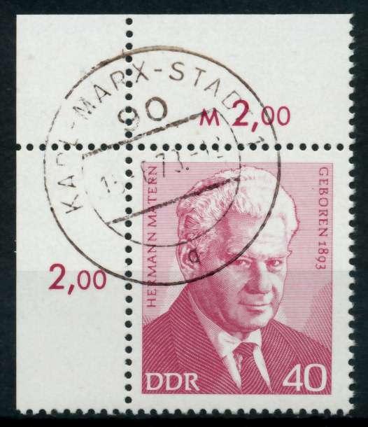 DDR 1973 Nr 1855 zentrisch gestempelt ECKE-OLI 691626