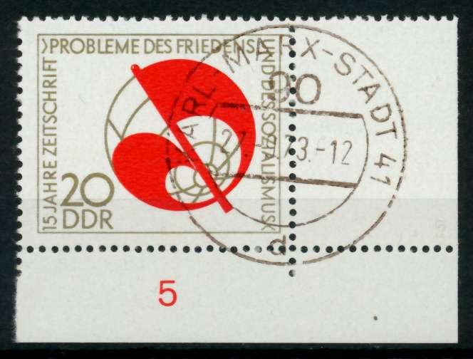 DDR 1973 Nr 1877 zentrisch gestempelt ECKE-URE 69179A