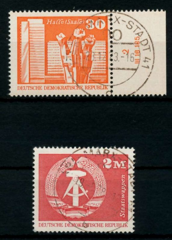DDR 1973 Nr 1899-1900 zentrisch gestempelt 691976