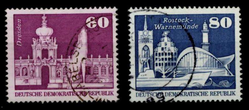 DDR 1974 Nr 1919-1920 zentrisch gestempelt 69484A