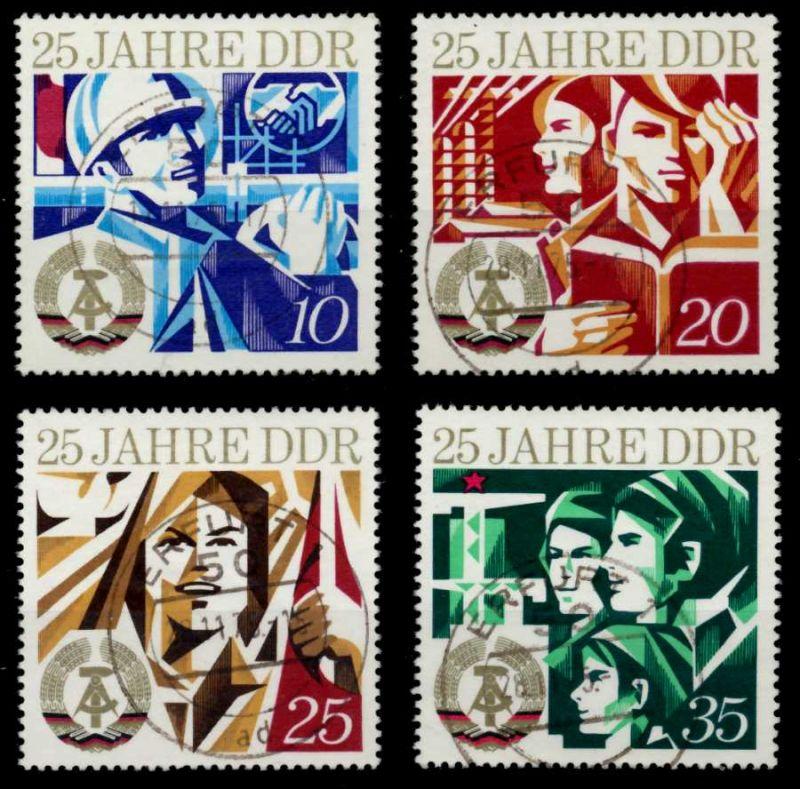 DDR 1974 Nr 1949-1952 zentrisch gestempelt 6971FE