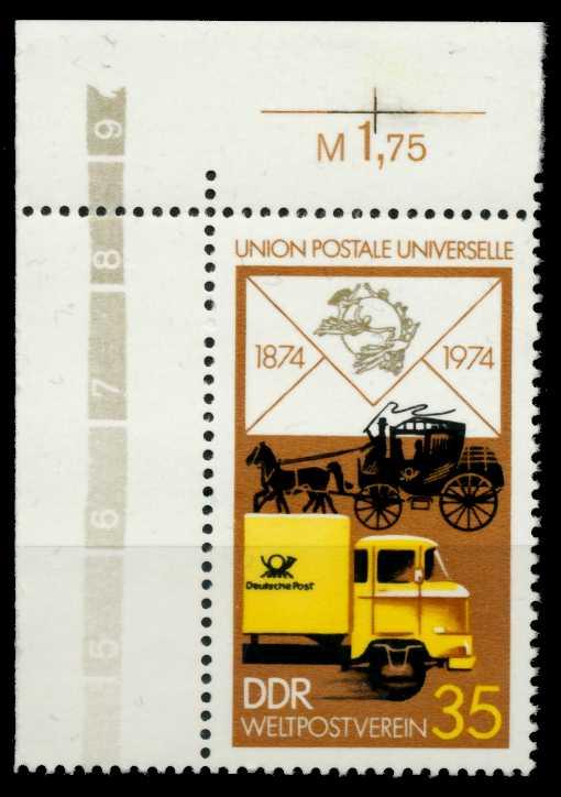DDR 1974 Nr 1987 postfrisch ECKE-OLI 697426