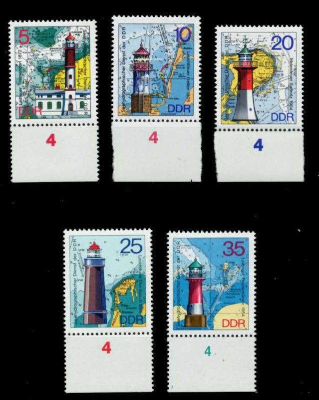 DDR 1975 Nr 2045-2049 postfrisch URA 69977A