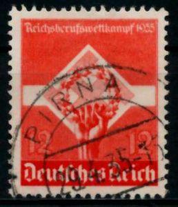 3. REICH 1935 Nr 572x gestempelt 86110A