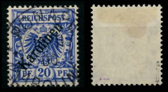 KAROLINEN Nr 4I zentrisch gestempelt gepr. 6B9222