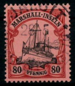 MARSHALL-INSELN Nr 21 zentrisch gestempelt gepr. 6B93BA