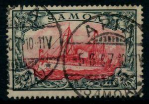 SAMOA (DT. KOLONIE) Nr 19 zentrisch gestempelt gepr. 6B9402