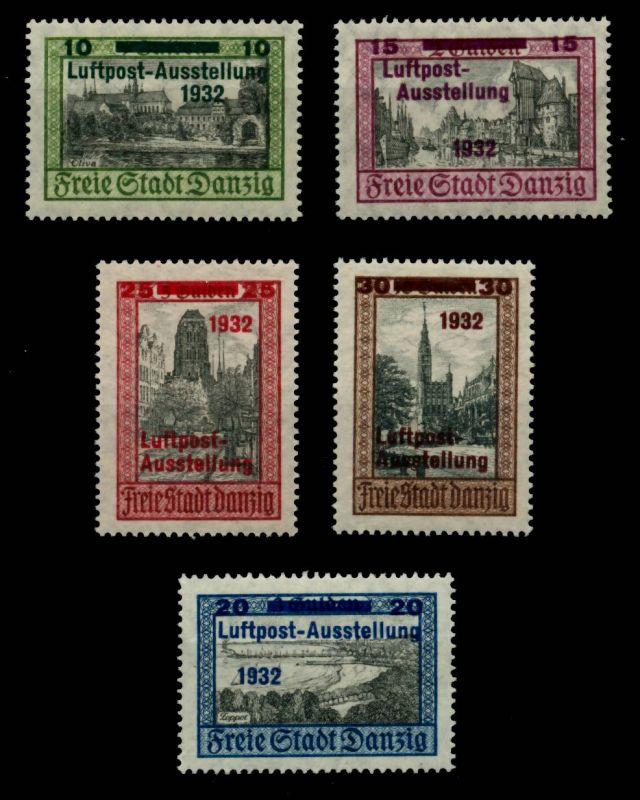 DANZIG Nr 231-235 postfrisch 6BE1B6