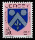 JERSEY Nr 247C postfrisch S0147EA
