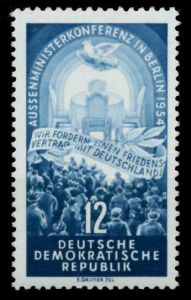 DDR 1954 Nr 424YI postfrisch 6C6A86
