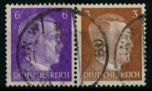 D-REICH ZUSAMMENDRUCK Nr W149 postfrisch WAAGR PAAR 6C9796