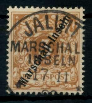MARSHALL-INSELN Nr 1Ia-SCH zentrisch gestempelt ATTEST 6CDEA2