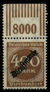 D-REICH DIENST Nr 80 W OR 2-9-2 postfrisch ORA 6D5E32