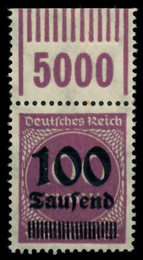 DEUTSCHES REICH 1923 HOCHINFLA Nr 289b OPD X a 6D6226