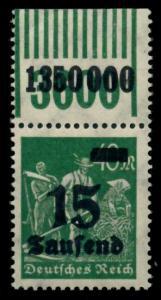 D-REICH INFLA Nr 279bW OR 1-11-1 postfrisch ORA 6D626A