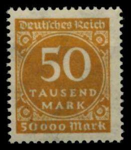 D-REICH INFLA Nr 275a postfrisch 6D6306