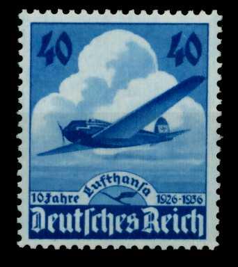 DEUTSCHES REICH 1936 Nr 603 postfrisch 6DA6DE