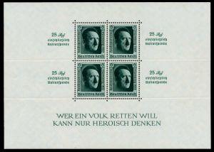 DEUTSCHES REICH 1937 Block 11 postfrisch 6DA712