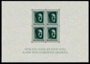 3. REICH 1937 Block 7 postfrisch 6DD20A